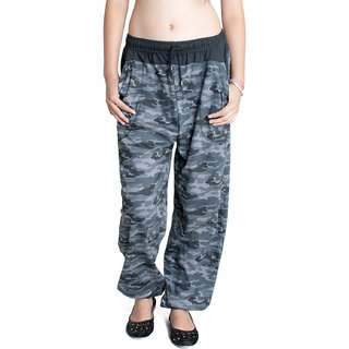 FabPoppy Women's Black Pyjama