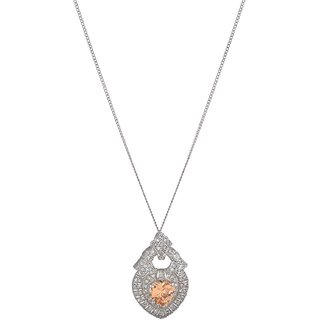 World of Silver 92.5 Sterling Silver Pendant for Women