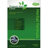 Siso Organic Hair Color Cream - Natural Black 1.0