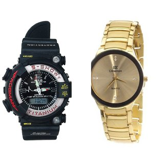 New Stylish Analog Watch For Men Combo Of 2