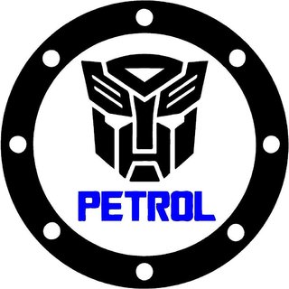 Indiashopers Transformer Petrol Bumper Sides Windows Car Sticker
