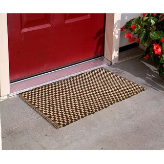 Living Creation Stylish Multi Single Door Mat