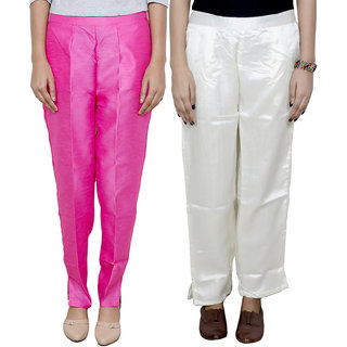 Indistar Women's Boot Cut Pant Combo (Pack of 2 Boot Cut Pant)