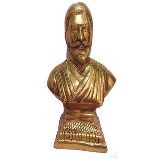 Buy Divine Gods Shivaji Maharaj Brass Statue And Idol 27
