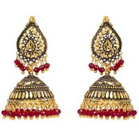 GoldNera Sonali Alloy Drop Earring-GoldNera0067