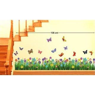 Decor Kafe Nature Wall Sticker  14x55(INCH)