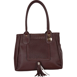 Venicce Brown Shoulder Bag VN144BRW
