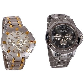 New Stylish Casual Watches Combo of 2 for Men,s
