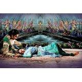 Mughal-E-Azam Madhubala Dilip Kumar Canvas