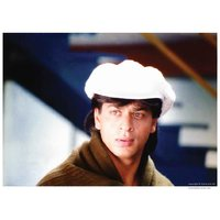 Shahrukh Khan In White Hat Pardes