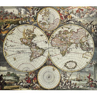 Vintage World Map 01