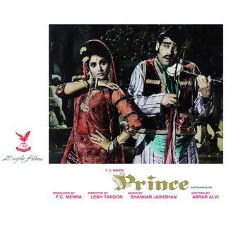 Shammi Kapoor & Vyjayanthimala In Prince