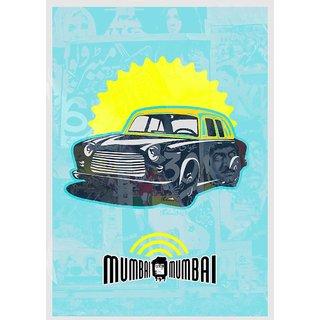 Mumbai Taxi Popart