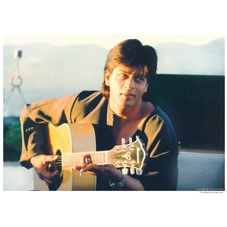 Shahrukh Khan Playing Guitar In Pardes -1