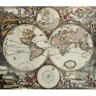 Vintage world map 01 prices in india shopclues online shopping store vintage world map 01 gumiabroncs Images