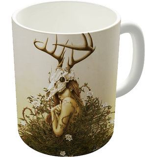 The Fappy Store Deer Secret Coffee Mug
