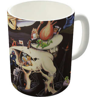 The Fappy Store The Garden Of Muppetly Delights Coffee Mug