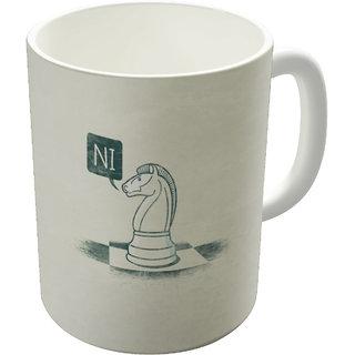 The Fappy Store The Knight Who Said Coffee Mug