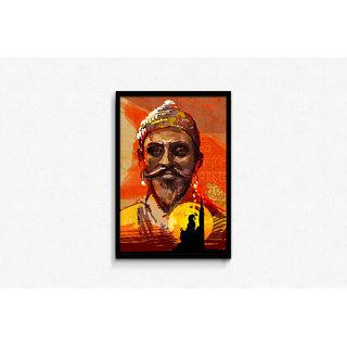 Shivaji Framed Poster
