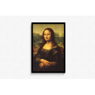 Mona Lisa By Leonardo Da Vinci Framed Poster