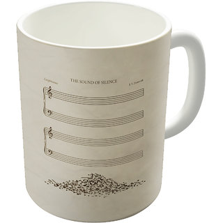 The Fappy Store The Sound Of Silence Coffee Mug