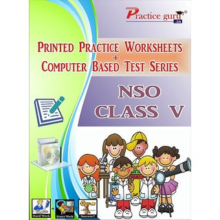 Worksheets  Test Series for NSO Class 5