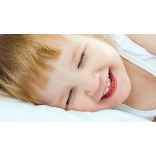 d83c61a9ba5 Mntc Adorable Cute baby girl sleeping smile Poster (Paper Print, 31cm x  46cm)