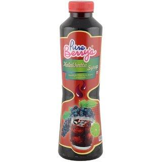Pureberrys Syrup, KalaKhatta, 750 Ml