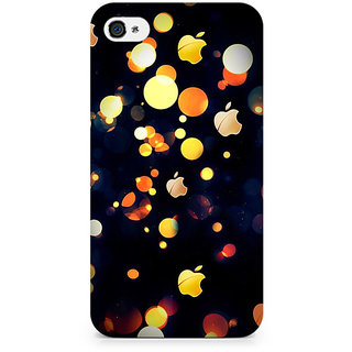TAZindia Printed Designer Back Case Cover For Apple iPhone 4 4S