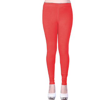 Sanado's Women Light Tomato Ankle Leggings