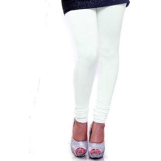 Organico Women's Cotton Leggings (WHITE)