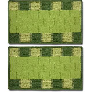 STATUS RIO DOOR MAT GREEN 15 X 23 2 PCS