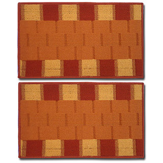 STATUS RIO DOOR MAT ORANGE 15 X 23 2 PCS