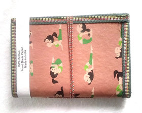 Gift Hand Made Paper Yoga Printed Girl Pink Elegant Diary Blank Diaries
