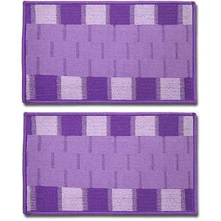 STATUS RIO DOOR MAT PURPLE 15 X 23 2 PCS