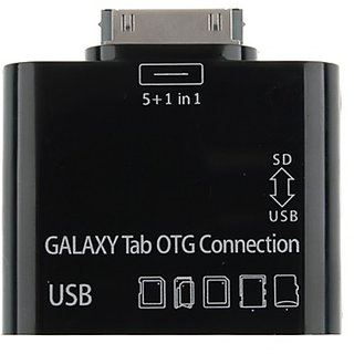 5 in 1 USB Card Reader Writer OTG Camera Connection Kit for Samsung Galaxy Tab 10.1 8.9 7.7 7.0 P7500 P7510 P7300 P7310 P6200 P6210