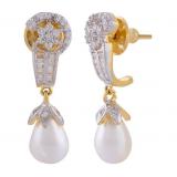 Sheetal Jewellery Gold Plated Earrings- SER11 TD-3560