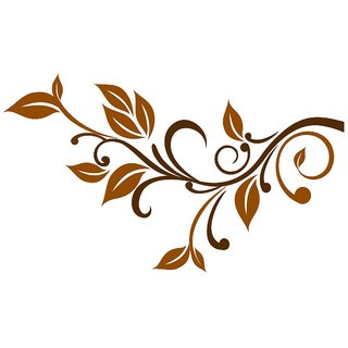 Chipakk Delicate Branch Wall Decal - Brown (Medium)