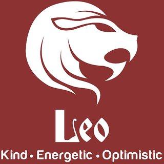 Chipakk Leo Zodiac Sticker - White (Small)