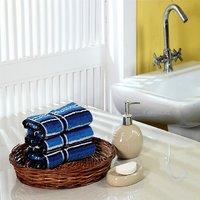 Furhome Cotton Hand Towel Set Of 3.TO1714