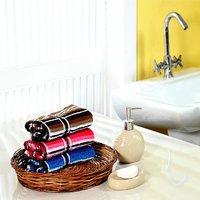Furhome Cotton Hand Towel Set Of 3.TO1717