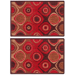 STATUS TABA DOOR MAT RED 15 X 23 2 PCS
