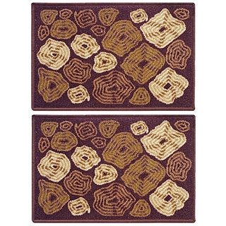 STATUS TABA DOOR MAT BROWN 15 X 23 2 PCS