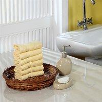 Furhome Cotton Face Towel Set Of 6.TO1719
