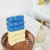 Furhome Cotton Face Towel Set Of 6.TO1721