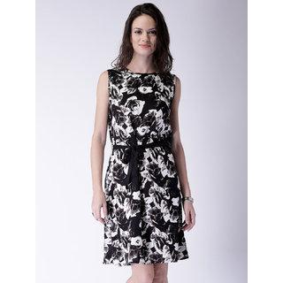 19d094fb3a Buy Klick2Style Black Floral A Line Dress Dress For Women Online ...