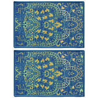 STATUS TABA DOOR MAT BLUE 15 X 23 2 PCS