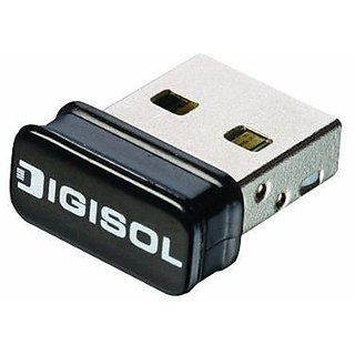 Digisol wireless wifi micro usb adapter reciever