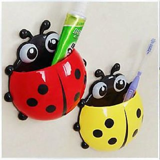 Right Traders Ladybird Toothbrush Holder ( pack of 1 )