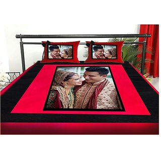Personalised Double bedsheets